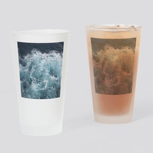 OCEAN WAVES Drinking Glass