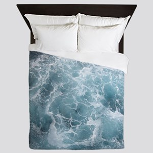 OCEAN WAVES Queen Duvet