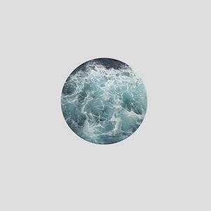 OCEAN WAVES Mini Button