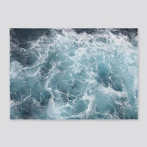 OCEAN WAVES 5'x7'Area Rug