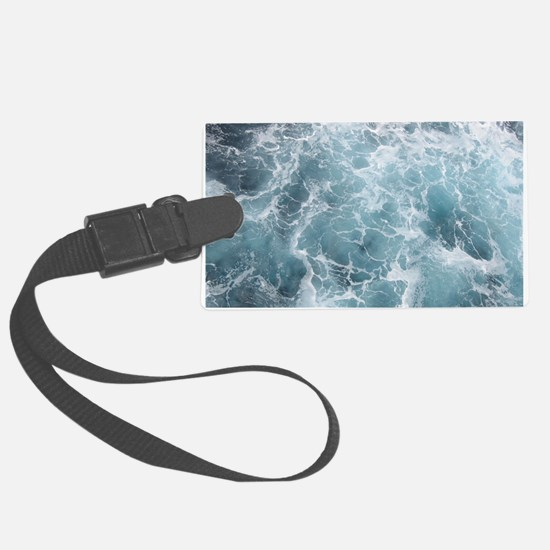 OCEAN WAVES Luggage Tag