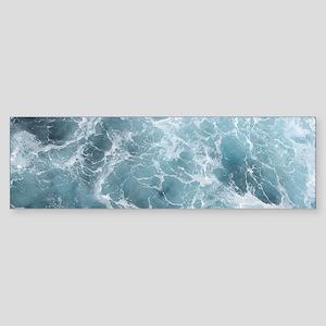 OCEAN WAVES Sticker (Bumper)