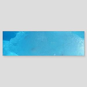 LIGHT TURQUOISE ICE Sticker (Bumper)
