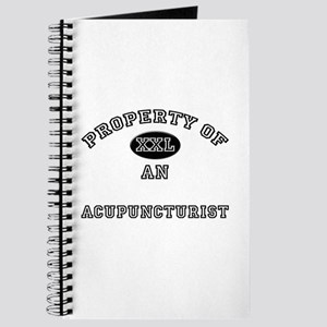 Property of an Acupuncturist Journal
