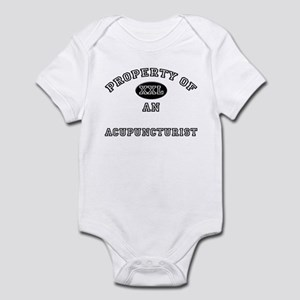 Property of an Acupuncturist Infant Bodysuit