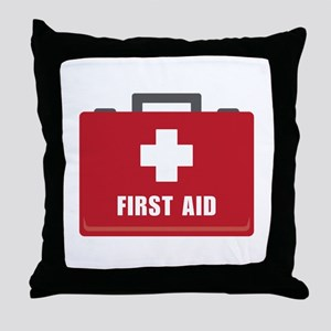 First Aid Throw Pillow