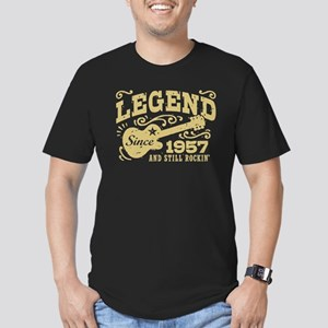 Legend Since 1957 Men's Fitted T-Shirt (dark)