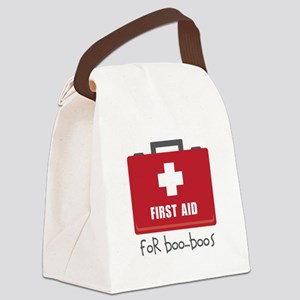 For Boo-Boos Canvas Lunch Bag