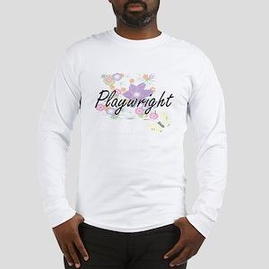 Playwright Artistic Job Design Long Sleeve T-Shirt
