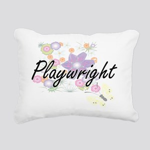 Playwright Artistic Job Rectangular Canvas Pillow
