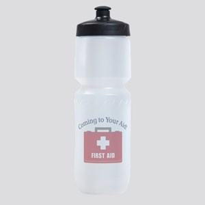Coming To Your Aid Sports Bottle