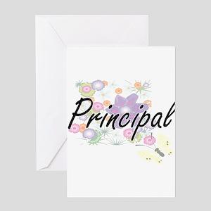 Principal Artistic Job Design with Greeting Cards