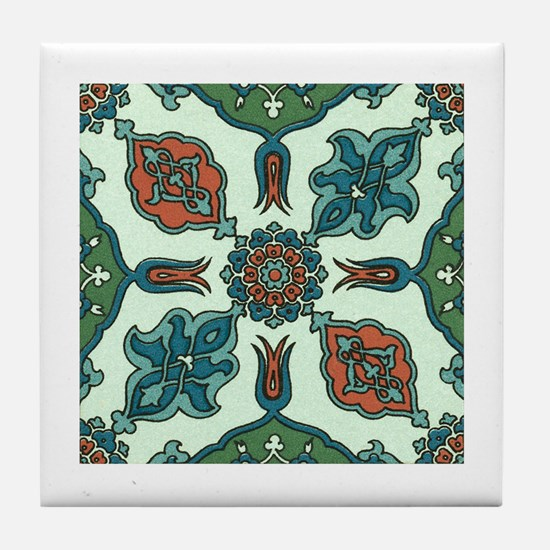 Traditional Art Tile Coaster