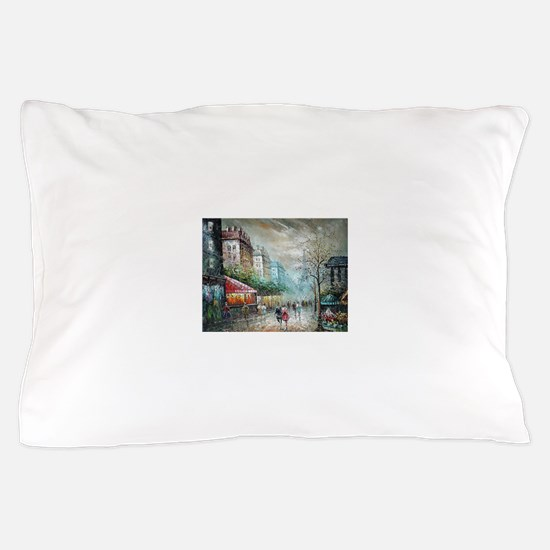 Paris 1920s - Painting Pillow Case