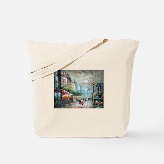 Paris 1920s - Painting Tote Bag