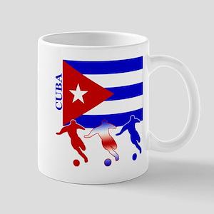 Cuba Soccer Mug