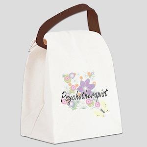 Psychotherapist Artistic Job Desi Canvas Lunch Bag