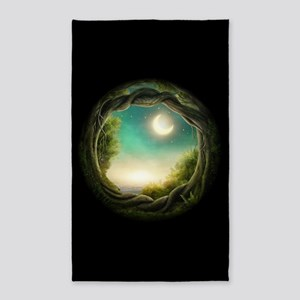 Magic Moon Tree Area Rug