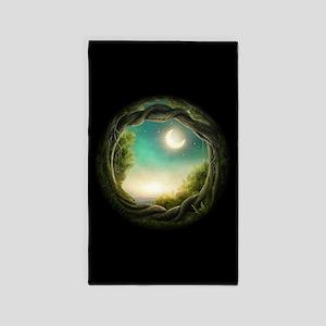 Magic Moon Tree Area Rug