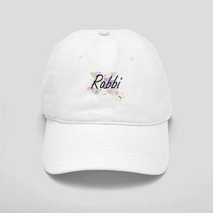 Rabbi Artistic Job Design with Flowers Cap