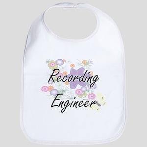 Recording Engineer Artistic Job Design with Fl Bib