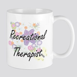 Recreational Therapist Artistic Job Design wi Mugs