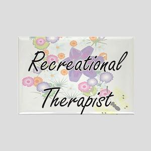 Recreational Therapist Artistic Job Design Magnets