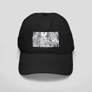 Moon light walk. Black Cap