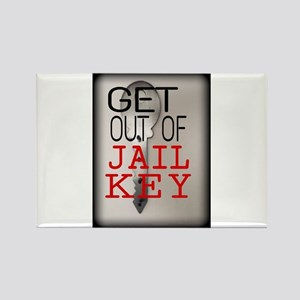 GET OUT JAIL KEY Magnets