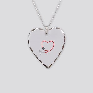 Heart Stethescope Necklace