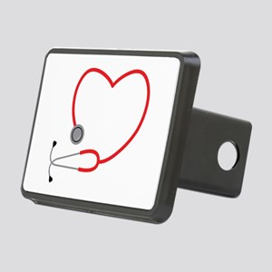 Heart Stethescope Hitch Cover