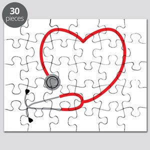 Heart Stethescope Puzzle
