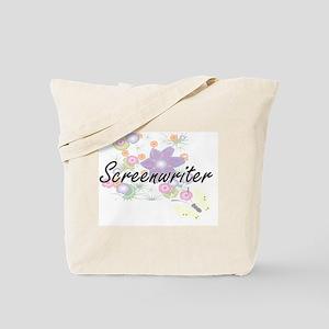 Screenwriter Artistic Job Design with Flo Tote Bag