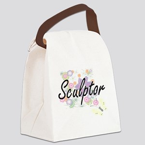 Sculptor Artistic Job Design with Canvas Lunch Bag