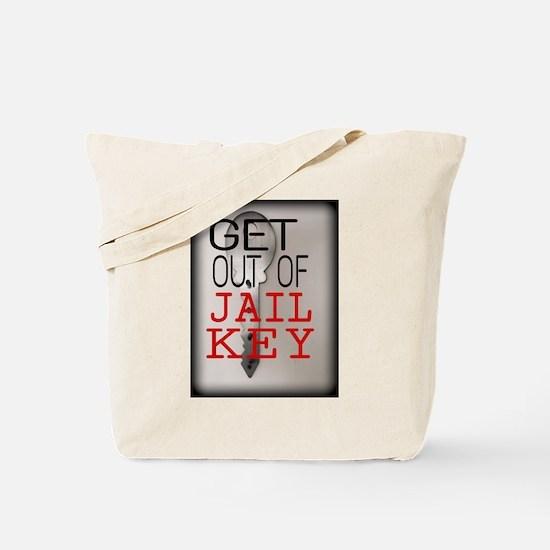 GET OUT JAIL KEY Tote Bag