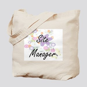 Site Manager Artistic Job Design with Flo Tote Bag