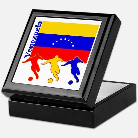 Venezuela Soccer Keepsake Box