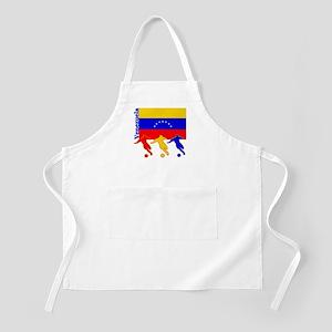 Venezuela Soccer BBQ Apron