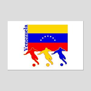 Venezuela Soccer Mini Poster Print