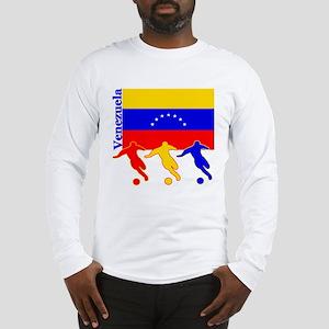 Venezuela Soccer Long Sleeve T-Shirt