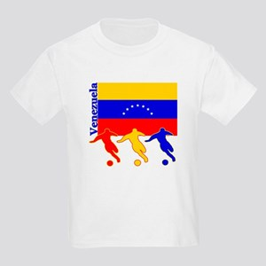 Venezuela Soccer Kids Light T-Shirt