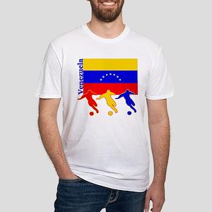 Venezuela Soccer Fitted T-Shirt