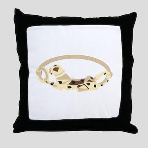 Cougar Bracelet Throw Pillow