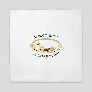 Cougar Town Queen Duvet