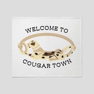 Cougar Town Throw Blanket