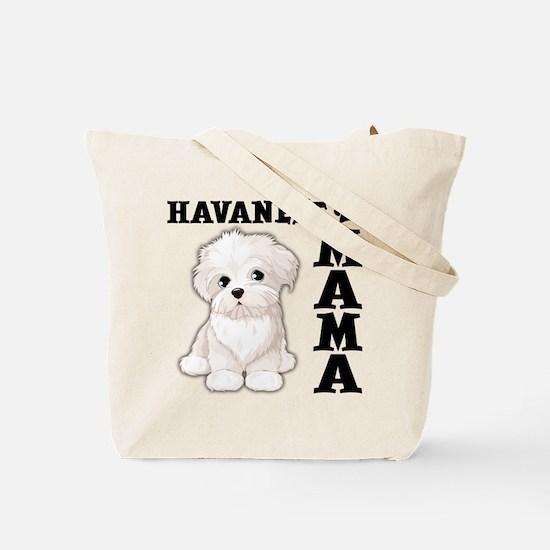 HAVANESE MAMA (both sides) Tote Bag
