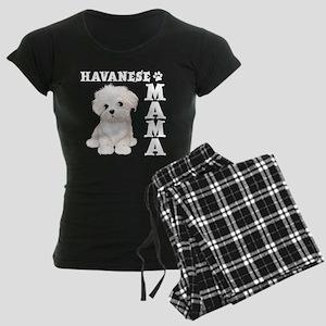 HAVANESE MAMA Women's Dark Pajamas