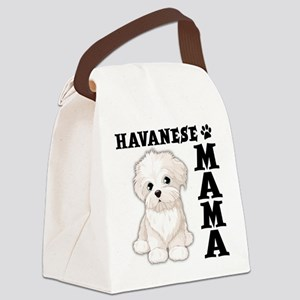 HAVANESE MAMA Canvas Lunch Bag