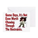 Restraints! Greeting Cards (Pk of 20)
