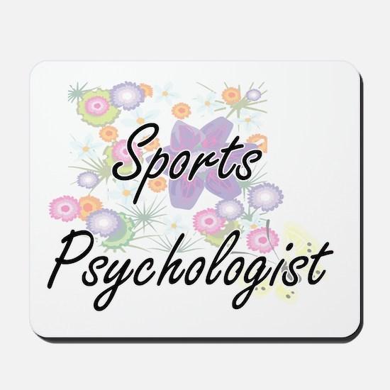 Sports Psychologist Artistic Job Design Mousepad